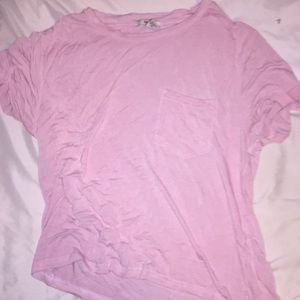 baby pink forever 21 crop top.